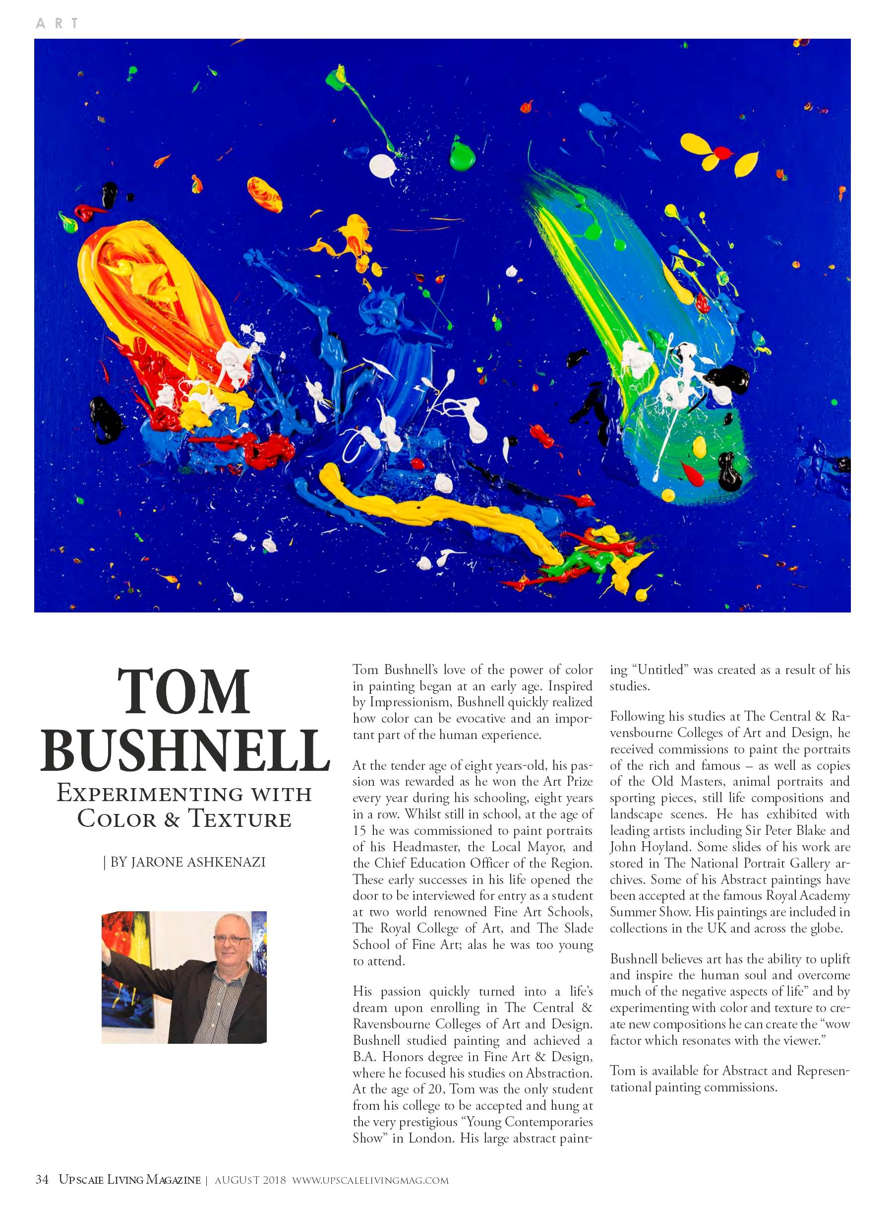 Tom Bushnell feature article