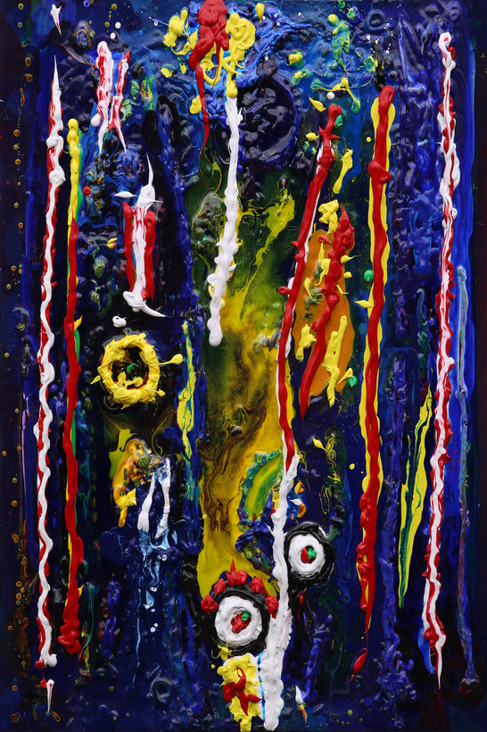 12 Untitled Contemporary Abstract Art by Tom Bushnell