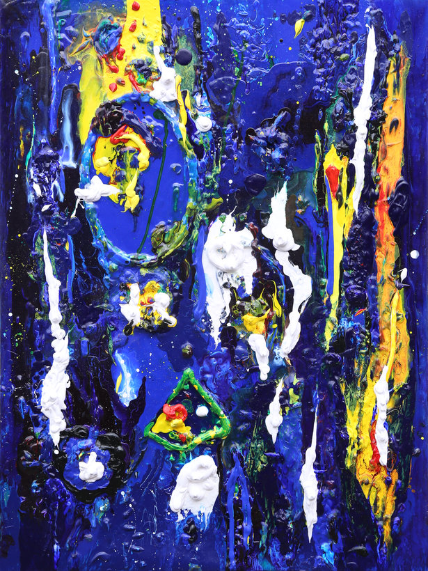 16 Untitled Contemporary Abstract Art by Tom Bushnell