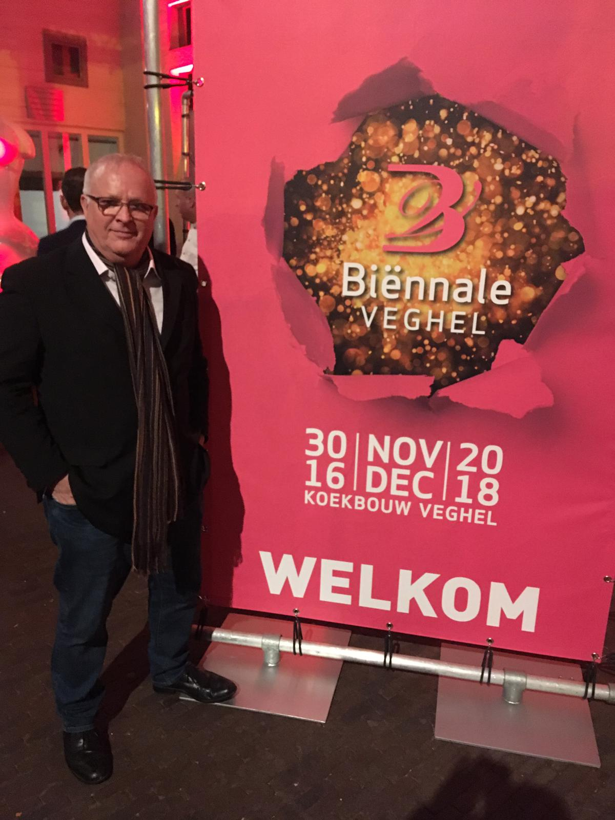 Tom at the Biënnale Veghel 2018 exhibition