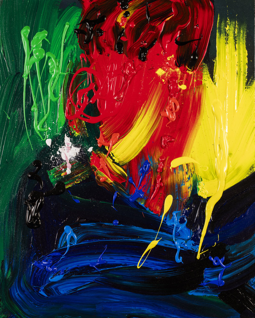 Wonderful Vincent Contemporary Abstract Art by Tom Bushnell